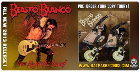 Beasto Blanco - live fast die loud - promo album banner - 2013