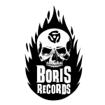BORIS RECORDS - large logo - B&W - 2013