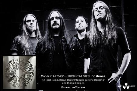 Carcass - band promo pic - itunes - ad promo - 2013