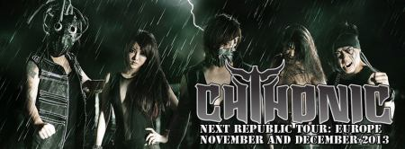 Chthonic - Europe Tour - promo banner - Winter - 2013