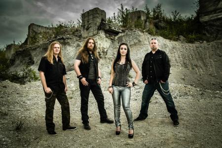 Crystal Viper - band promo pic - 2013 - #923