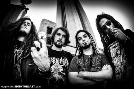 Dehuman - band publicity pic - B&W - 2013 - #81