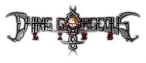 Dying Gorgeous Lies - band logo - 2013