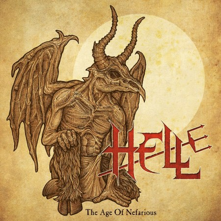 Hell - The Age Of Negarious - promo cover pic