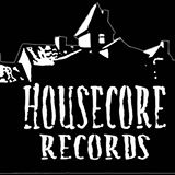 Housecore Records - logo - black and white - 2013
