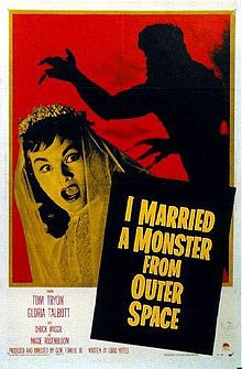 I married a monster from outer space - promo movie poster - 1958