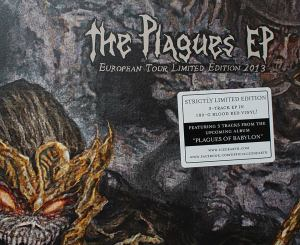 Iced Earth - The Plagues EP - Front Left Corner - promo