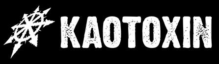 Kaotoxin - Large Logo - B&W - 2013