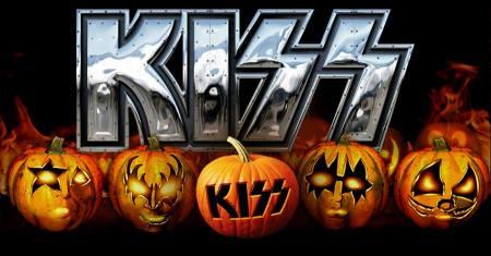 Kiss - Halloween Pumpkins - promo pic - 2013 - Kiss Pumpkin Contest