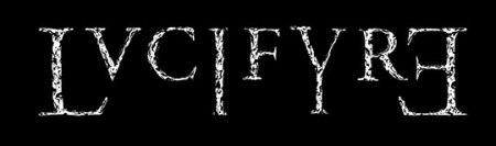 Lvcifyre - band logo - #2 - B&W