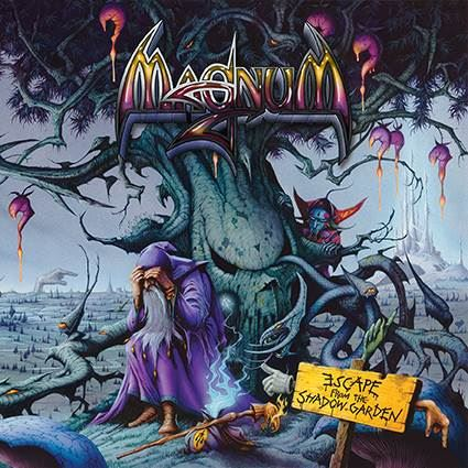 Magnum - Escape From the Shadow Garden - promo cover pic