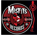 Misfits Records - turntable - logo - 2013