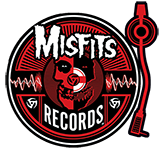 Misfits Records - turntable - logo - 2013