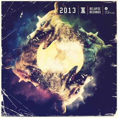 Relapse Records - 2013 - records fall sampler - promo cover