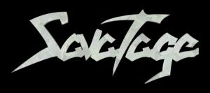 Savatage - Classic Logo - B&W