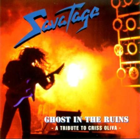 Savatage - Ghost In The Ruins - A tribute to Criss Oliva - promo cover