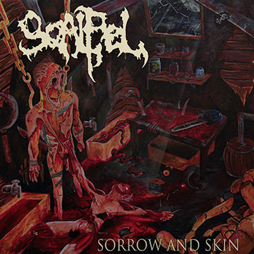 Scalpel - sorrow and skin - promo cover pic