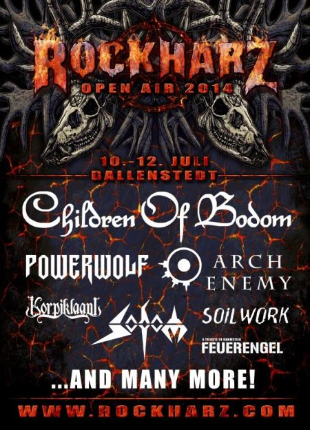 Sodom - Rockharz - open air - 2014