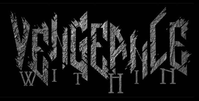 Vengeance Within - large logo - B&W