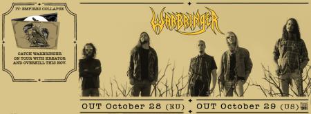 WARBRINGER - IV - promo album banner - 2013