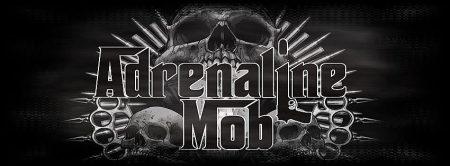 Adrenaline Mob - promo band logo banner - 2013