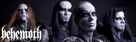 Behemoth - promo banner - band - classic logo - 2013