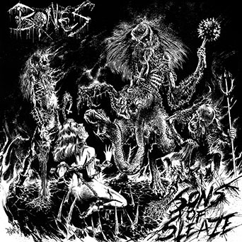 Bones - Sons Of Sleaze - promo cover pic - 2013