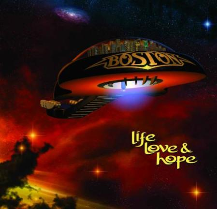 Boston - Life Love & Hope - promo cover pic - 2013