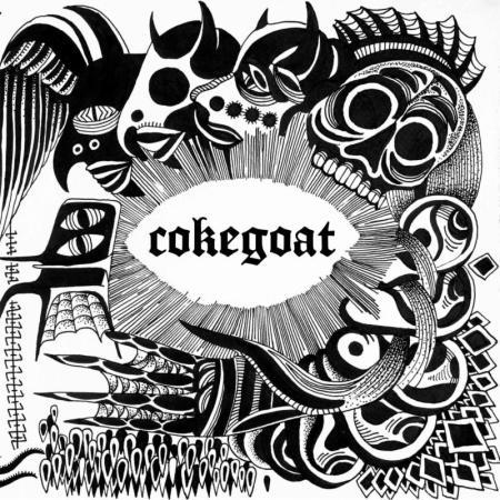 Cokegoat - vessel - promo cover pic - 2013 - B&W