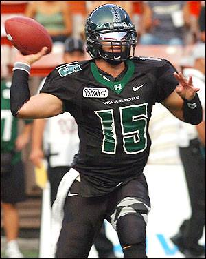 Colt Brennan - promo NCAA - Hawaii - pic - #1