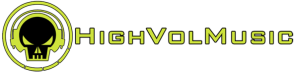 HighVolMusic - banner logo - #1 - 2013
