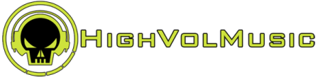 HighVolMusic - banner logo - #1 - 2013