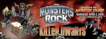 Killer Dwarfs - Monsters Of Rock Cruise - 2014 - promo banner