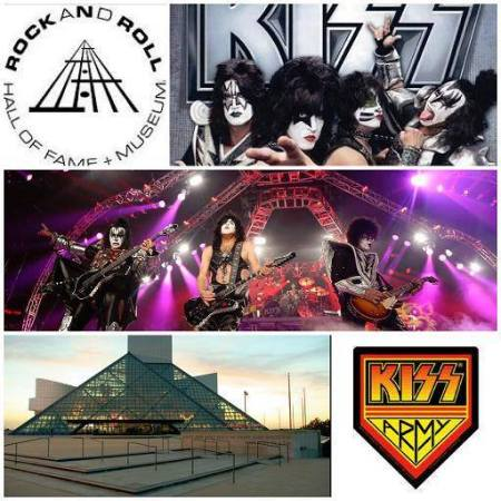 Kiss - Rock And Roll Hall Of Fame - vote promo mural - 2013