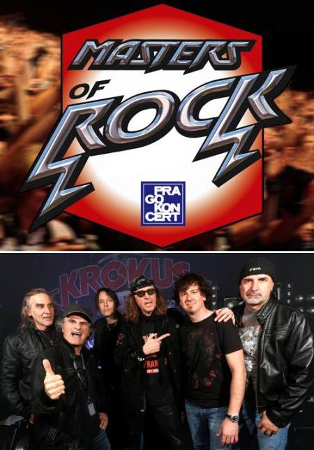 Krokus - Masters Of Rock - promo flyer - 2014