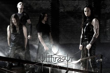 lyfthrasyr - promo band pic - band logo - 2013