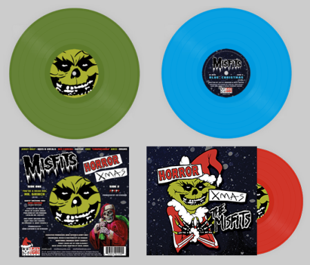 Misfits - Horror Xmas - promo pic - colored vinyl - 2013