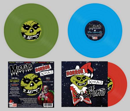 Misfits - Horror Xmas - promo pic - colored vinyl - 2013
