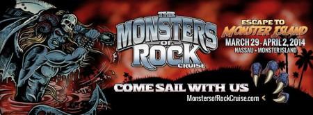 Monsters of Rock Cruise - 2014 - promo banner