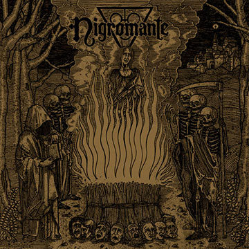 Nigromante - black magic night - promo cover pic - 2013