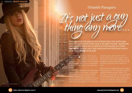 Orianthi - Guitar Interactive - interview page - 2013