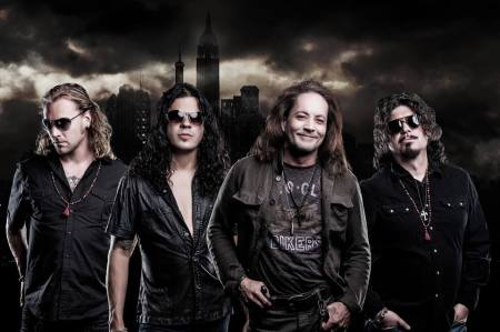 Red Dragon Cartel - promo band pic - 2013 - Jake E. Lee