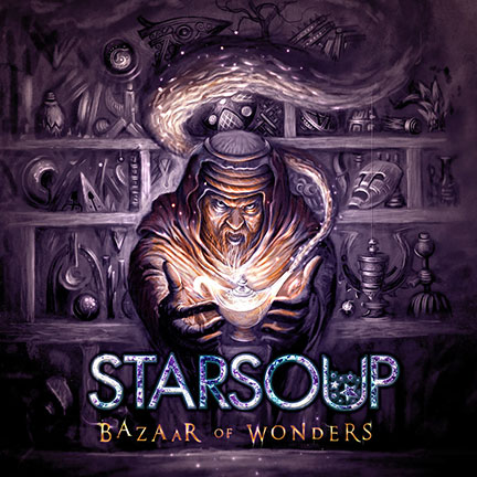 Starsoup - Bazaar Of Wonders - promo cover pic - 2013