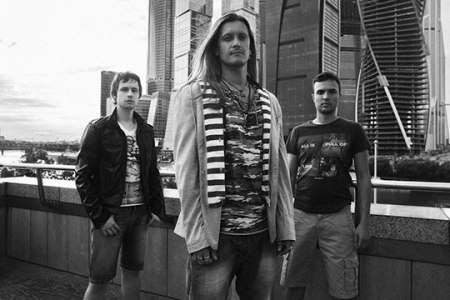 Starsoup - promo band pic - B&W - 2013