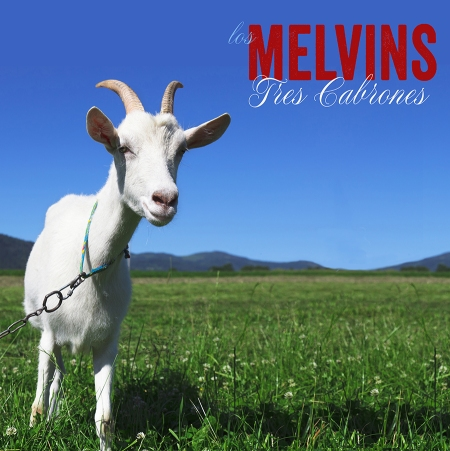 The Melvins - Tres Cabrones - promo cover pic - 2013