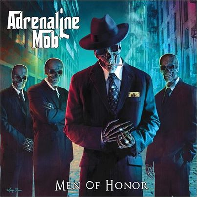 Adrenaline Mob - Men Of Honor - promo cover pic - 2013
