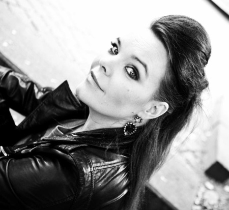 Anette Olzon - publicity pic - B&W - #124 - 2013