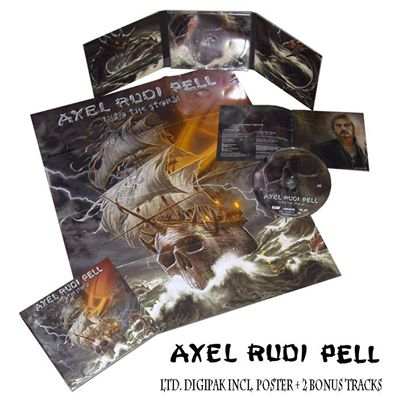 Axel Rudi Pell - digipak - Into The Storm - promo pic - 2014