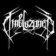 Emblazoned - band logo - B&W - 2013