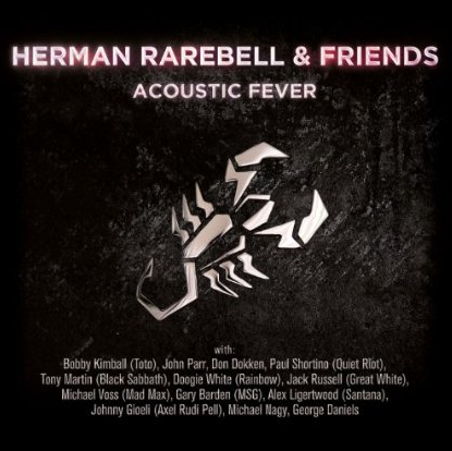 Herman Rarebell & Friends - Acoustic Fever - promo cover pic!